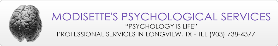 Psychologists in Longview - Modisette's Psychological Services Logo